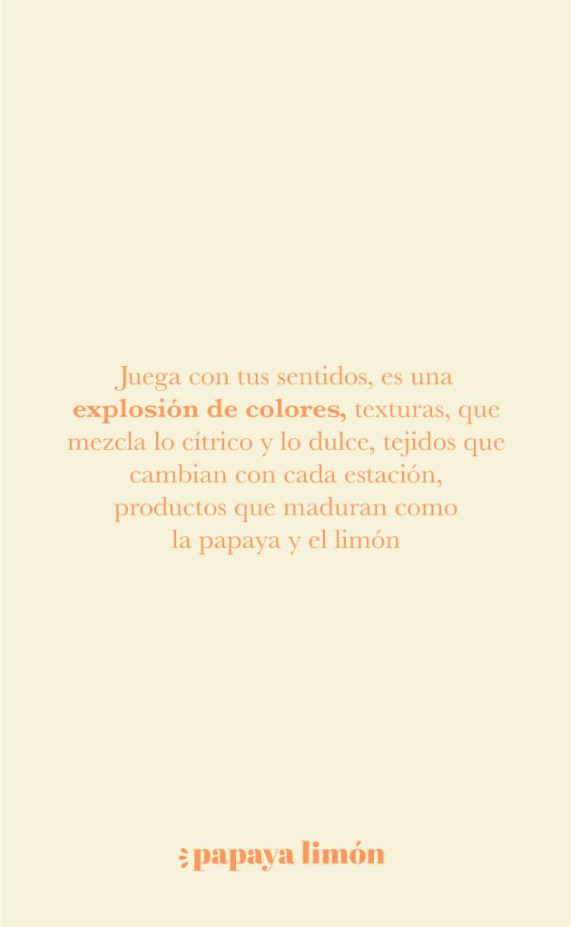 Manifiesto Papaya Limón